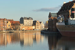 Nice Gdansk view. Stock Photo