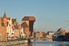 Nice Gdansk view. Stock Photography