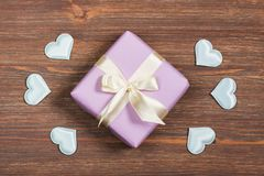 A nice gift for a loved one Royalty Free Stock Images