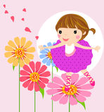 Nice girl Stock Image