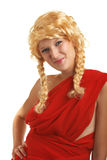 Nice girl with braids Royalty Free Stock Photo