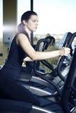 Nice girl in fitness Stock Photos