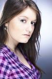 Nice girl in studio Stock Photos