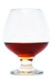 Nice glass of cognac Stock Photos