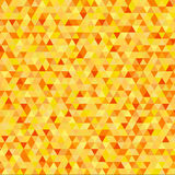 Nice gold background of triangles - vector illustration. Nice gold background of triangles vector illustration Stock Image