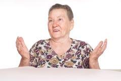 Nice granny portrait Stock Images