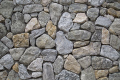 Nice grey rock wall background Stock Images