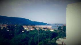 Nice Griekenland Griekenland Korfu 2017 Stock Afbeelding
