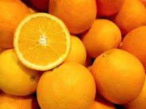 Nice Group Of Fresh Oranges Background Royalty Free Stock Images