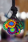 Nice handcraft. Nice mexican handcraft. Very shallow depth of field Stock Images