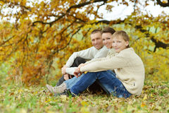 Nice happy family Royalty Free Stock Photo