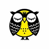 Nice and happy owl. Illustration. vector illustration