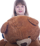 Nice Happy Teen girl Stock Images