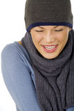 Nice happy woman Stock Photo