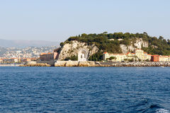 Nice harbor, France Royalty Free Stock Photo