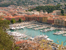 Nice - harbour Royalty Free Stock Image