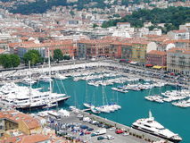 Nice - harbour Royalty Free Stock Photo