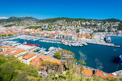 Nice harbour, French Riviera Stock Photos