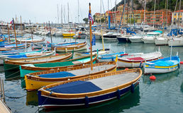 Nice - harbour and port Stock Photos