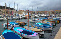 Nice - harbour and port Stock Image
