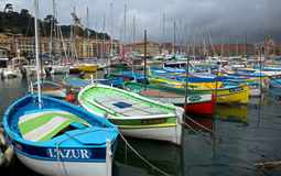 Nice - harbour and port Stock Images