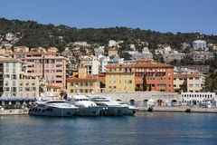 Nice Harbour, South France Royalty Free Stock Photography
