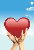Nice heart Royalty Free Stock Image