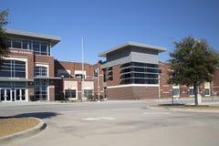 Nice high school entrance Stock Image