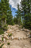 Nice Hiking Trail Stock Photo