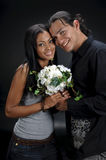 Nice Hispanic Couple Stock Photo