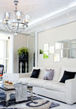 Nice home. A modern nice house,It is white Stock Image