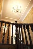 Nice home. A modern American nice house Royalty Free Illustration