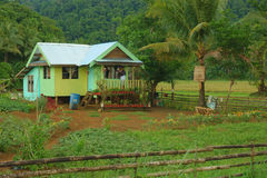 Nice home. Life in the Philippine countryside, Siargao Island Stock Images