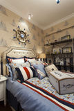 Nice home. A modern&classical nice house Stock Image