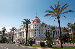 Nice - Hotel Negresco Stock Photo