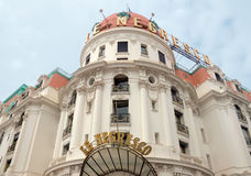 Nice - Hotel Negresco Royalty Free Stock Photo
