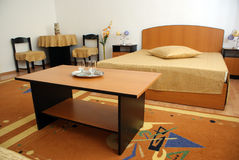 Nice hotel room Stock Images