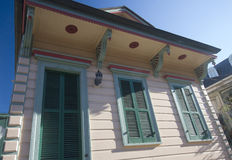 Nice house in  city  New Orleans Stock Photography