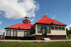 Nice house from Ushuaia. Royalty Free Stock Image