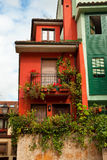 Nice houses Stock Photography