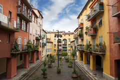 Nice - Houses in the old town Royalty Free Stock Photography