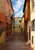 Nice - Houses in the old town Stock Image