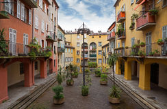 Nice - Houses in the old town Royalty Free Stock Images