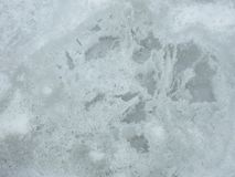 Beautiful white winter ice texture, can use as background Stock Photography
