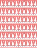 Elegant Christmas background in red and white Stock Images