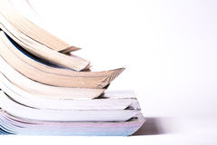 Nice image of a heap of study book. Royalty Free Stock Images