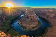 Nice Image of Horseshoe Bend Royalty Free Stock Images