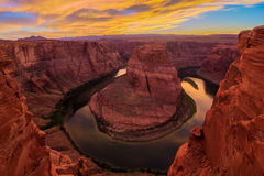 Nice Image of Horseshoe Bend Stock Image