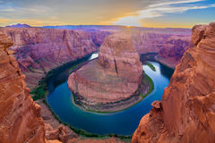 Nice Image of Horseshoe Bend Stock Photography