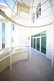 Nice interior of modern balcony. Modern and stylish interior of european balcony Royalty Free Stock Images